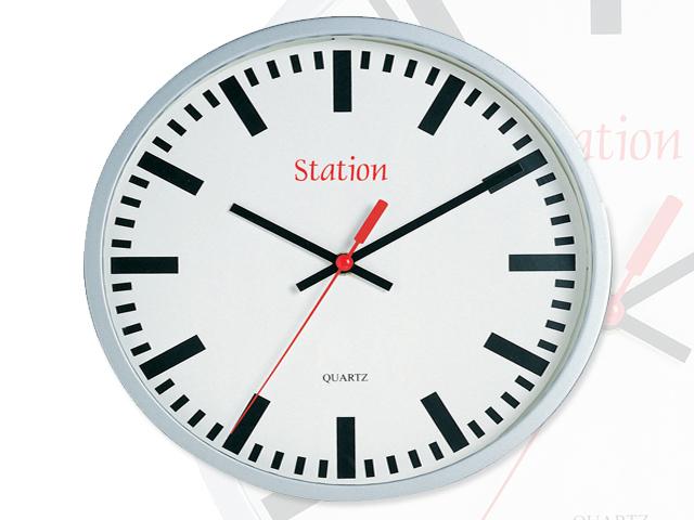Orologio da muro station cm pubblicit t shirt for Stampe da parete