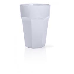 Bicchiere da cocktail in plastica satinata Panama Personalizzato