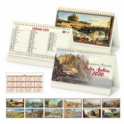 Italia Antica - Calendario Spiralato Da Tavolo