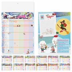 Calendario Della Famiglia - Mensile 12 Fogli