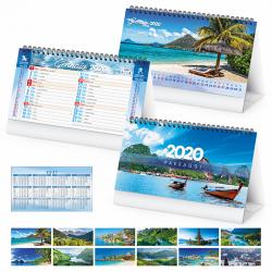 Paesaggi - Calendario Spiralato Da Tavolo