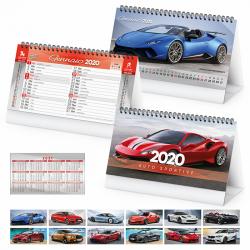 Auto Sportive - Calendario Spiralato Da Tavolo