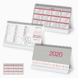 Calendario Da Tavolo - Spiralato Tavolo