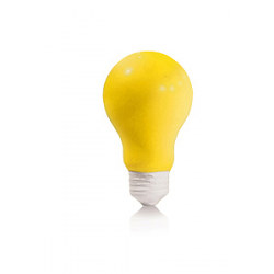 Antistress a forma di lampadina Personalizzato