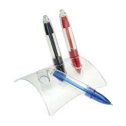 Stiloforo con 3 penne a sfera, inchiostro Rosso/Nero/blu