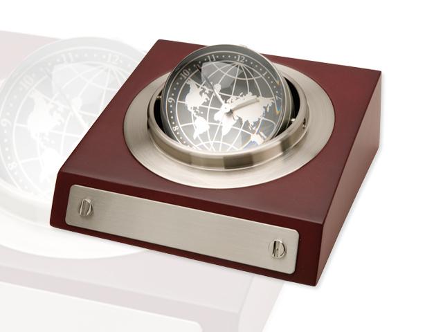 Orologio da tavolo rotante con stampa personalizzata for Orologio da tavolo thun